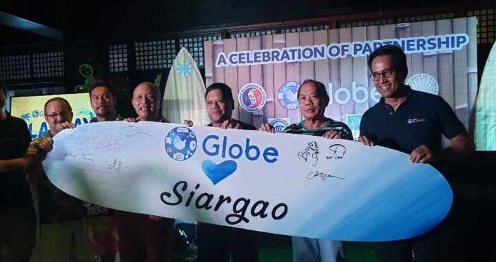 Globe makes waves at Siargao Cloud 9 Surfing Cup
