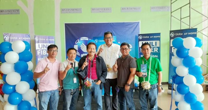 Koronadal City now powered by Globe at Home Fiber