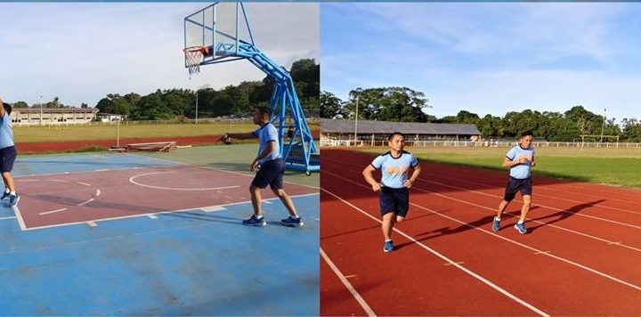PCLO Camiguin strengthens physical fitness program