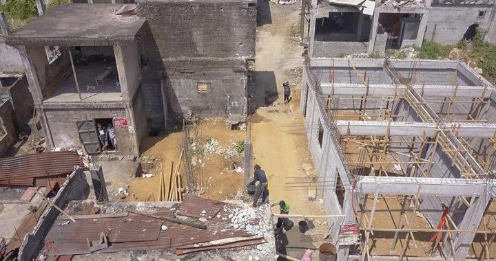 Marawi IDPs start rebuilding homes