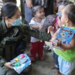 Gov't delivers aid to 120 families displaced in Army-NPA encounter in Iligan